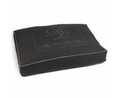 Designed by Lotte Cama para perro Script gris oscuro 100x70 cm 706430