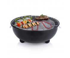 Tristar Barbacoa eléctrica de mesa BQ-2880 1250 W 30 cm negra