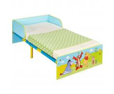 Disney Cama para niños Winnie the Pooh 143x77x43 cm azul WORL104001