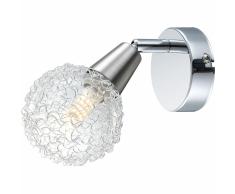 GLOBO Lámpara foco LED CICER cromo y níquel 56039-1