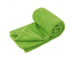 Travelsafe Toalla de viaje microfibra rizo talla L verde TS3101