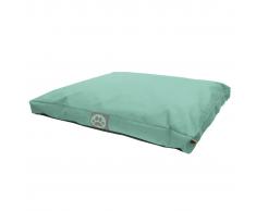Overseas Cama para perro 75x55x10 cm verde menta
