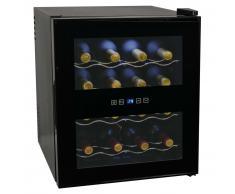 vidaXL Vinoteca 48 L 16 botellas pantalla LCD