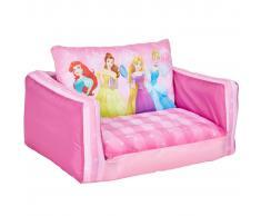 Disney Sofá plegable de princesa 105x68x26 cm rosa WORL660021
