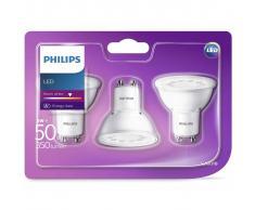Philips Bombillas de foco LED 3 unidades 5 W 350 lúmenes 929001220486