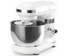 Tristar Robot de cocina/ Batidora amasadora + Bol, 4 L, Blanco