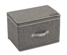 Outwell Caja de almacenaje plegable Palmar L gris poliéster 470356