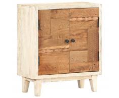 vidaXL Armario auxiliar de madera maciza reciclada 60x30x70 cm