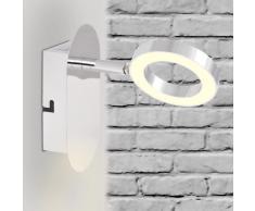 vidaXL Lámpara LED de pared con 1 luz blanca cálida