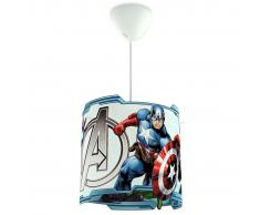 Philips Lámpara colgante Marvel Vengadores Disney 23 W azul 717513516