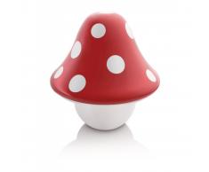 Philips Lámpara de mesa decorativa, Boletu, LED 3,6W, roja