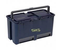 Raaco Caja de herramientas 6 compartimentos Compact 27 136587