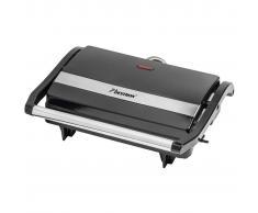 Bestron Plancha grill negra 700 W APM123Z