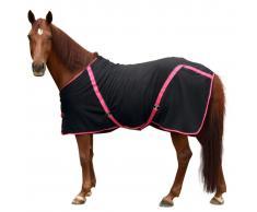 Kerbl Manta de caballo polar RugBe Classic negro 135 cm 328686