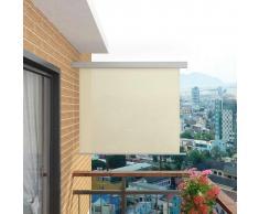 vidaXL Toldo lateral de balcón multifuncional 150x200 cm crema