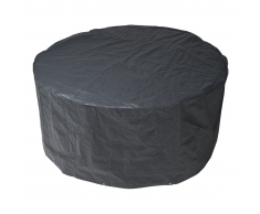 Nature Funda protectora PE muebles jardín 90x205cm gris 6030600