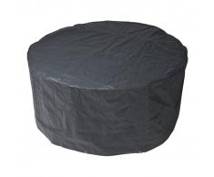 Nature Funda protectora PE muebles jardín 90x325cm gris 6030600