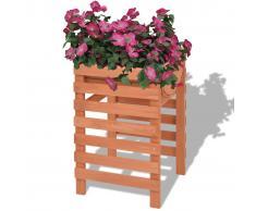 vidaXL Jardinera de madera 38x36x60 cm