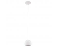 EGLO Lámpara colgante de techo, LED Petto 1 94246, Blanco