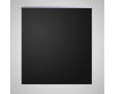 vidaXL Persiana Enrollable Apagón 60 x 120 cm Negro