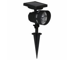 Luxform Foco solar LED La Roche negro 45109