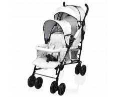 Little World Silla de paseo gemelar Twing gris LWST002-GY