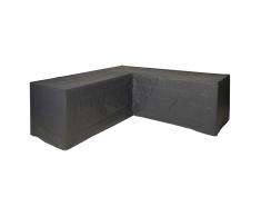 Nature funda protectora para muebles de jardín forma L PE 250x90x90