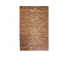 RIDDER Alfombra de baño de madera Bamboo 90x60 cm