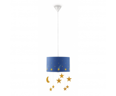 Philips Maripo lámpara de techo infantil azul 20W 230V