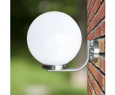 vidaXL Aplique de pared en forma de bola, 32 cm