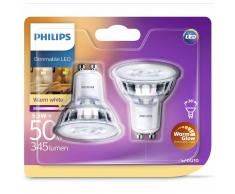 Philips Bombillas de foco LED 2 uds Classic 50 W 929001364161