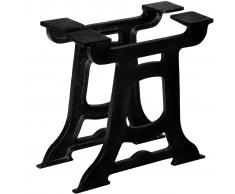 vidaXL Patas de mesa de comedor en Y hierro fundido 2 unidades