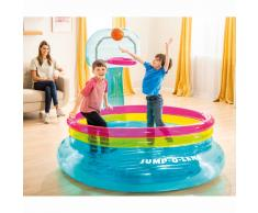 Intex Piscina inflable con canasta Jump O-Lene PVC
