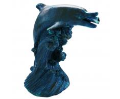 Ubbink Fuente para estanques delfín 18 cm 1386020