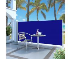 vidaXL Toldo lateral retráctil 140x300 cm azul