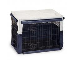 Beeztees Cubierta para jaula de perro Benco 78x55x61 cm azul 715956