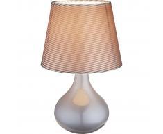 GLOBO Lámpara de mesa FREEDOM cerámica gris 21651