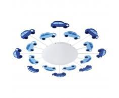 EGLO Lámpara de pared/techo VIKI 1 azul 92146