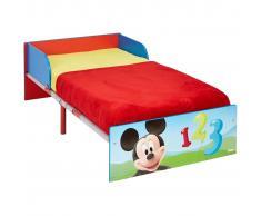 Disney Cama para niños Mickey Mouse cm roja 143x77x43 WORL119013