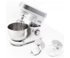 Bestron Robot de cocina profesional con batidora de vaso AKM700, 700 W
