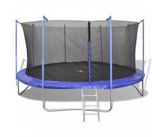 vidaXL Set de cama elástica 5 piezas 4,57 m