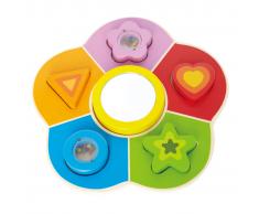 Hape Rompecabezas con puzzles, marca E0410