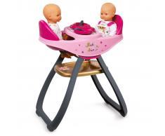 Smoby Trona para gemelos Baby Nurse 34x29x58 cm 220315