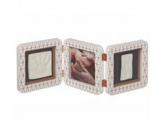 Baby Art Marco triple para foto y huella My Baby Touch blanco 3601092800