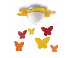 Philips Meria lámpara de techo infantil amarilla 15W 230V