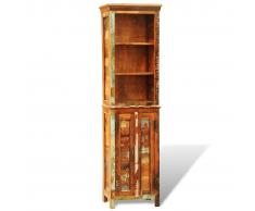 vidaXL Estantería estilo vintage hecha de madera reciclada