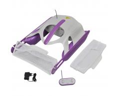 vidaXL Robot skimmer recogehojas eléctrico para piscina con mando a distancia