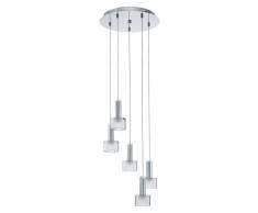 EGLO Lámpara colgante de techo, LED Fabiana 1 5L 93931