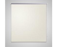 vidaXL Estor Persiana Enrollable 80 x 175cm De Color Crema