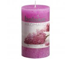 Bolsius Velas perfumadas rústicas Flor de Lila 6 unidades 103626240351